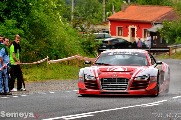 Fombona - Audi R( LMS ultra- Primero en turismos y primero Cat. II del Open