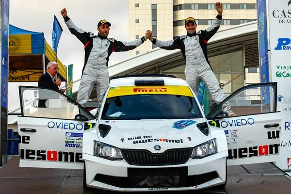 podio ares racing rallye princesa