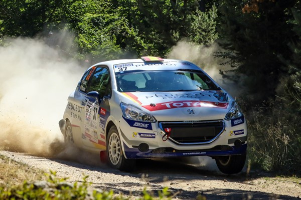 208 rally Cup lopez-rozada