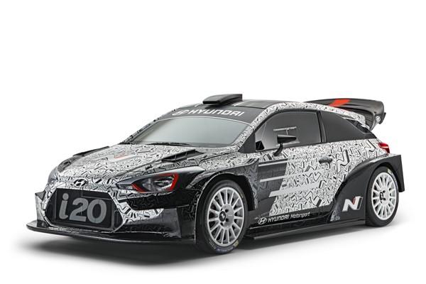 Hyundai WRC i20 2017
