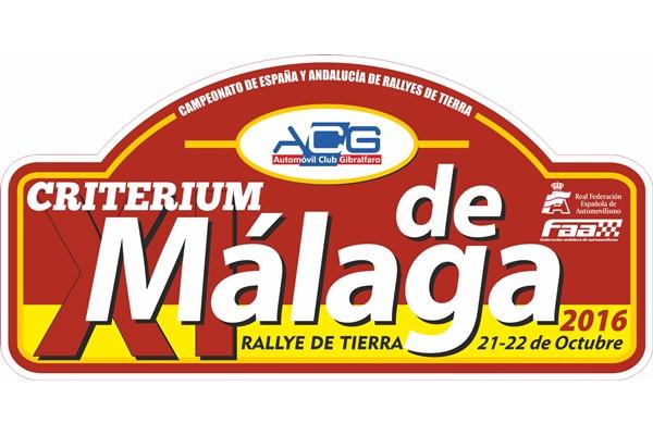 placa rallye tierra malaga 2016