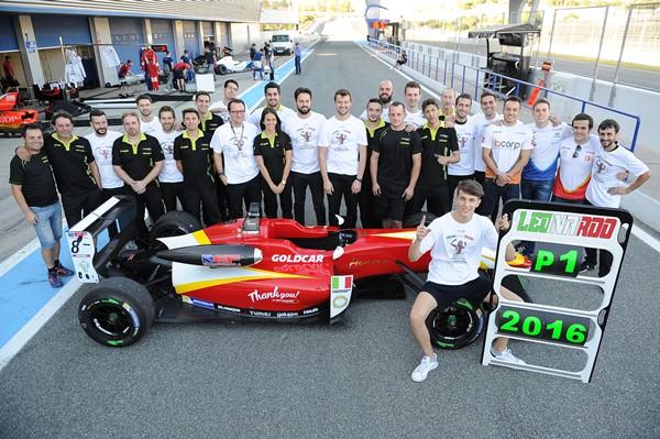 campos racing equipo pulcini euroformula open f3 jerez