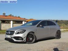 Mercedes Clase A AMG-45 4Matic, un A de otra clase