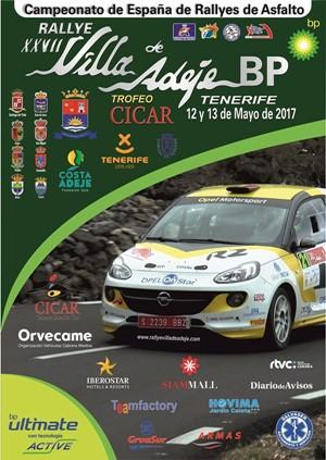 CARTEL Rallye Villa Adeje 2017