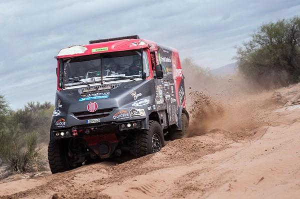 camion tatra llovera dakar 2017