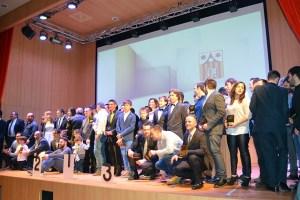 Premiados Gala campeones aragon 2016