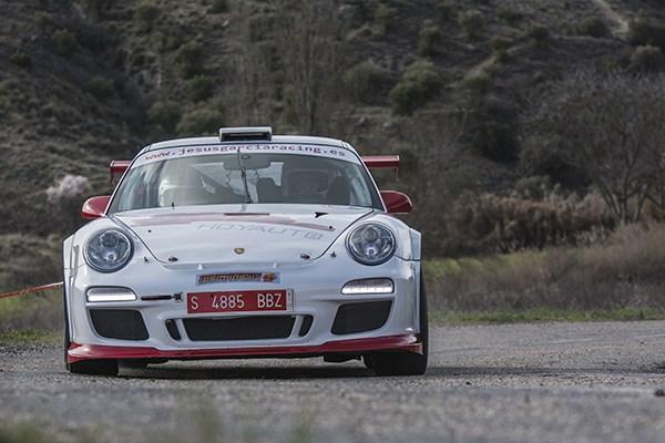 jesus garcia Porsche 911 gT3 Rallye Arganda