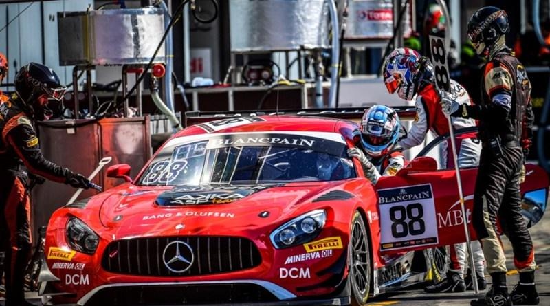 Dani Juncadella Mercedes-AMG GT3 Monza