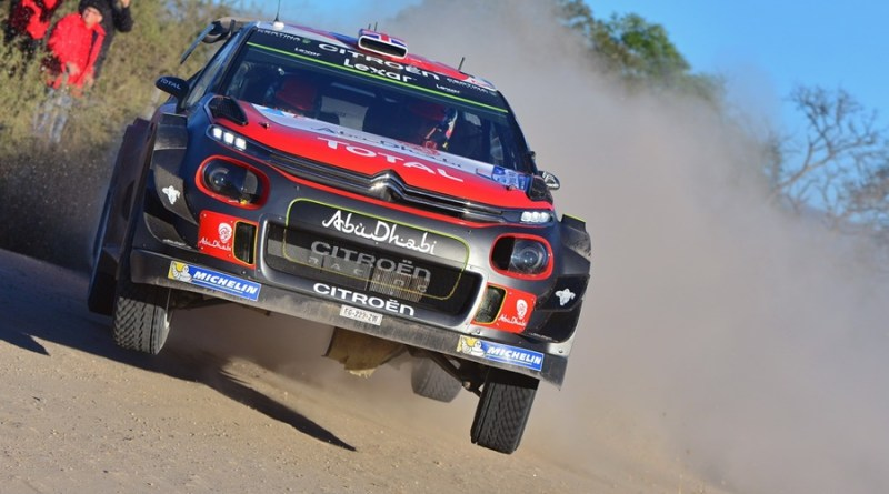 Kris Meeke Citroën C3 WRC Argentina