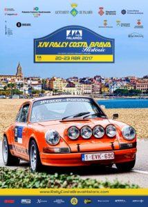 cartel Rallye Costa Brava Clasicos 2017