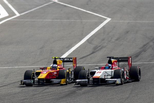 f2 racing engineering barhein