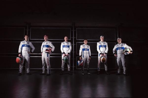 ford wec gt pilotos 2017