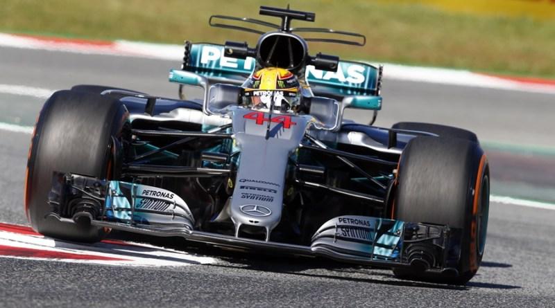 Hamilton F1 GP España 2017 mercedes-amg