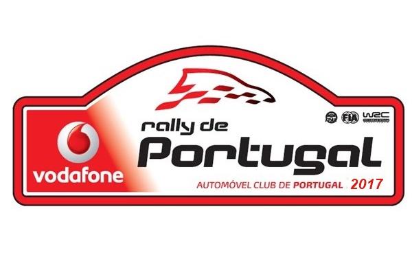 Placa Rallye Portugal 17