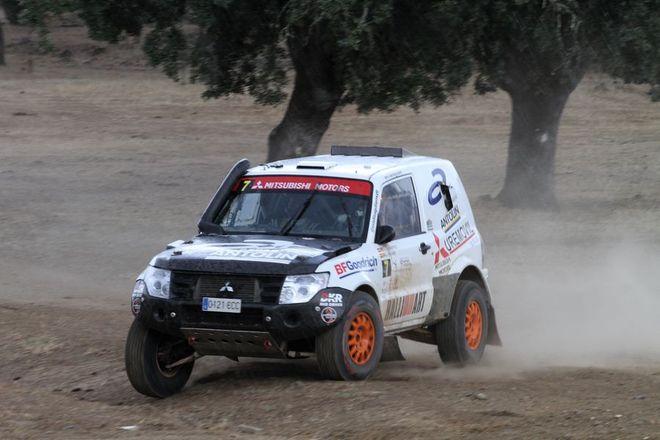 Baja Dehesa Extremadura CERTT gutierrez Mitsubishi Montero Proto
