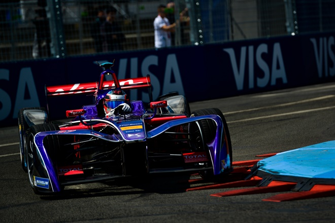 Jose Maria Lopez DS Virgin Racing formula e