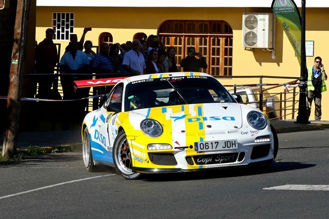 Rallye Isla Gran Canaria DISA Copi Sport Porsche 911