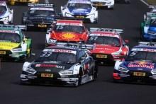 Audi llega a la prueba de Norisring al frente de las tres clasificaciones