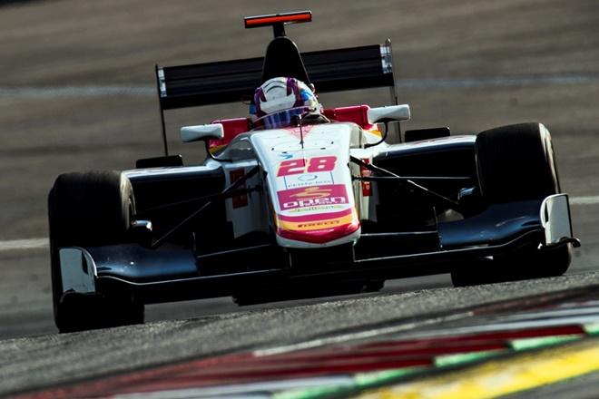 Campos racing gp3 pre silverstone