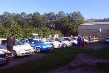 Récord de participación en la II Copa Citröen AX Cantabria, con 10 equipos inscritos para el XI Rallye Cristian López