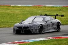 El BMW M8 GTE hace los primeros test en pista