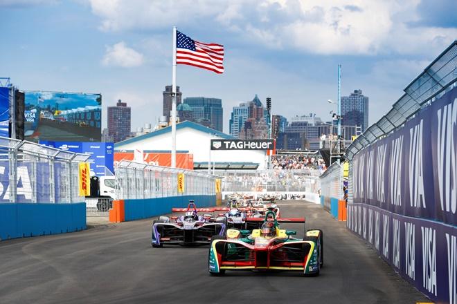 formula e nueva york salida