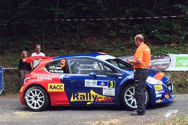 lopez rozada Rallye Letzebuerg