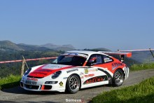 Marcos Diego ganó el Rallysprint Medio Cudeyo