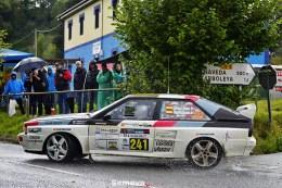 De los seis Gr. B presentes M. A. Gómez, con el Audi Quattro, fue el más rápido