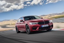 BMW M5 First Edition 2017, fotografías generales