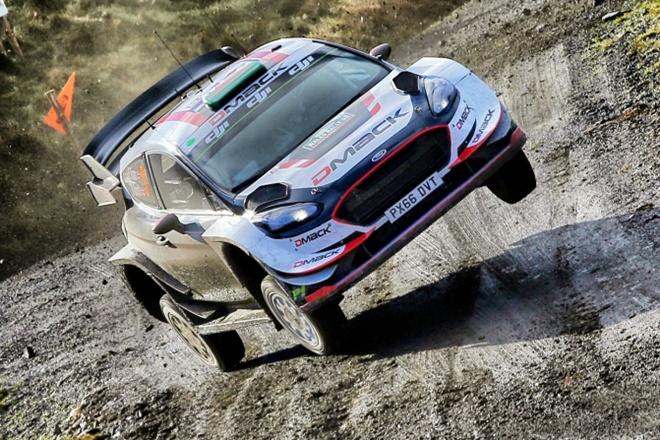 Evans Ford Fiesta WRC Gales