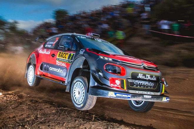 Kris Meeke Citroen C3 WRC Rallye España