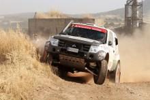 Cristina Gutiérrez ante su última carrera antes del Rallye Dakar con el Mitsubishi Montero