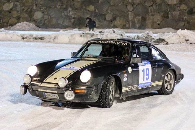 Andorra Winter Rally Porsche 911 nieve