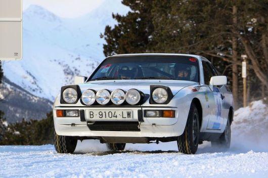 Andorra Wintter Rallye Carles Miro-Ivan Matavacas Porsche 924