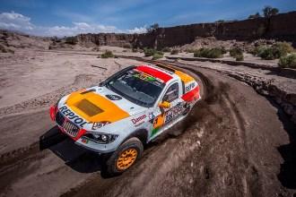 Isidre Esteve supera la especial más larga del Dakar 2018