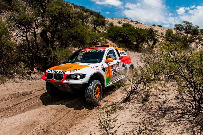 Dakar Esteve BV6 roderas