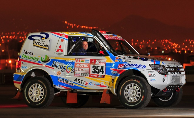 Mitsubishi Montero Dakar 2018 Gutierrez