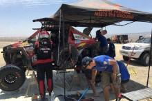 Peña y Tornabell superan nuevamente los problemas de una dura etapa con un quinto puesto