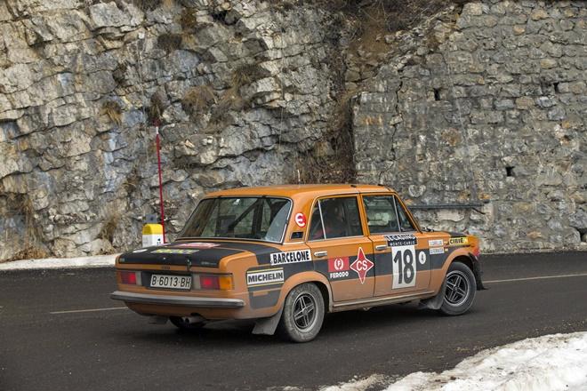 Canellas Ferrater onte-Carlo SEAT 124 Especial grupo 4