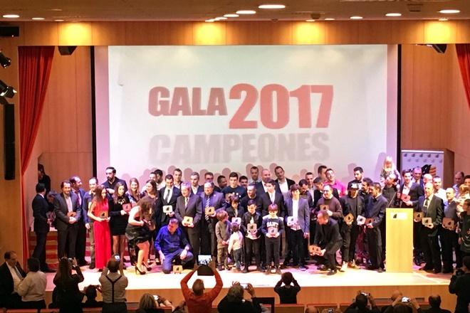 Premiados Gala Campeones FADA 2017