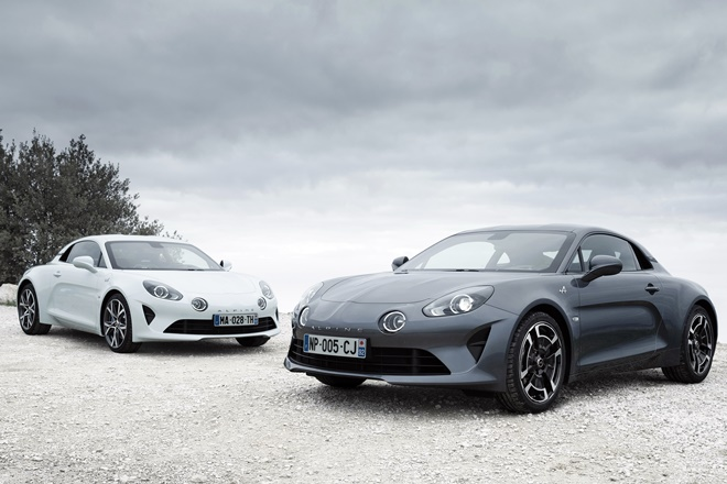 alpine a110 pure legende 2018