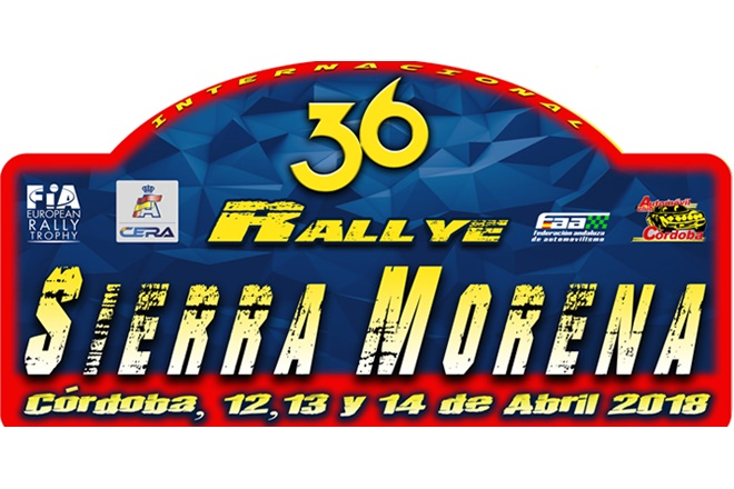 placa rallye sierra morena 2018