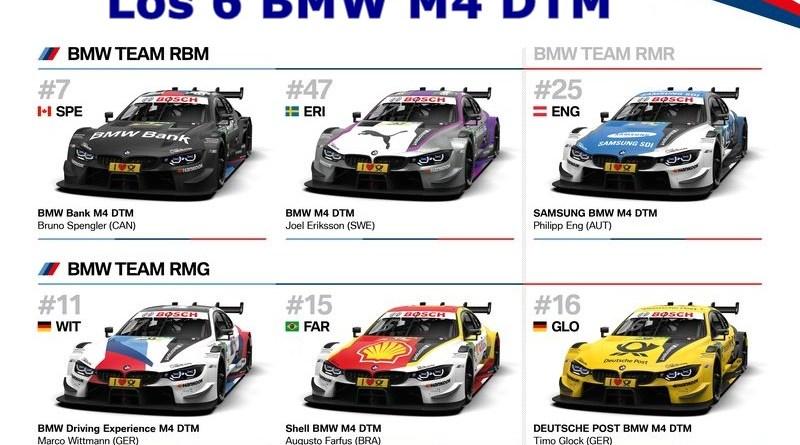 BMW M4 DTM 2018