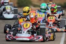 Belén García y Lisard Santos, listos para la categoría reina del karting