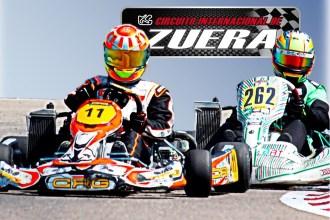 La Copa Aragón de Karting arranca el domingo en el Circuito Internacional de Zuera
