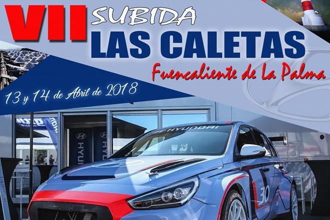 Cartel Subida Las Caletas 2018 cortado