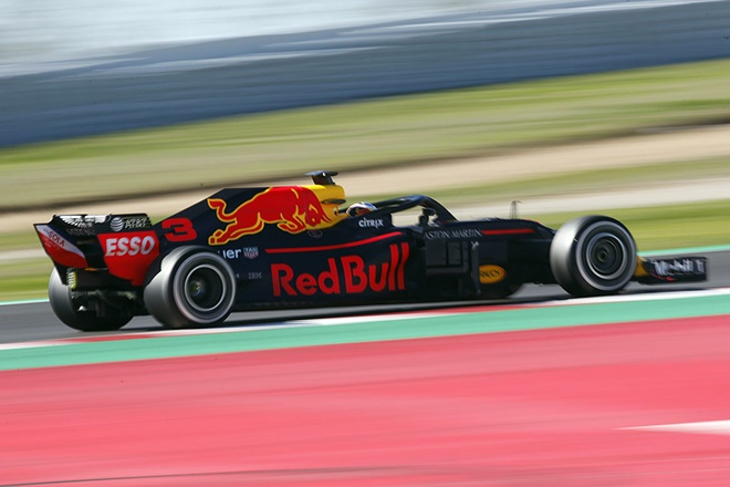 F1 test cataluna red bull ricciardo