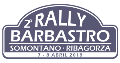 Placa Rallye Barbastro 2018