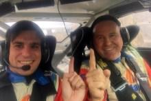 José Antonio Aznar comienza su temporada de Rallyes en Andalucía con victoria